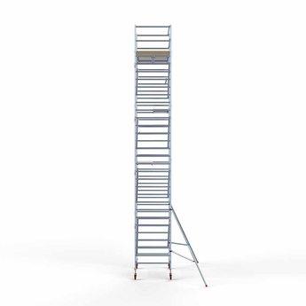 Euroscaffold Standaard Basis rolsteiger 135 x 190 x 10,2m werkhoogte