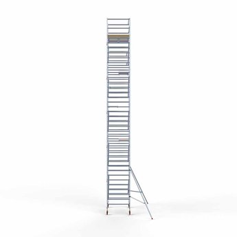 Euroscaffold Standaard Basis rolsteiger 135 x 190 x 12,2m werkhoogte