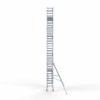 Euroscaffold Euroscaffold Rolsteiger met enkele voorloopleuning 75x190x10,2 meter werkhoogte