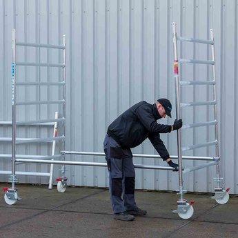 Euroscaffold Rolsteiger Standaard 75x190 4,2m werkhoogte