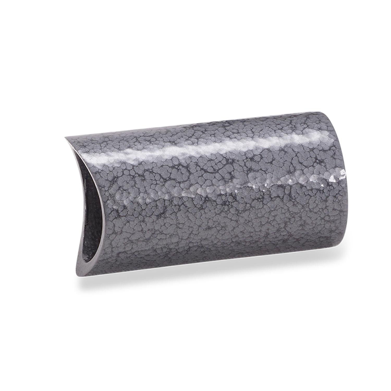 Leuninghouder hamerslag gecoat TYPE 14 rond -  INOX drager inclusief grijze hamerslag look poedercoating