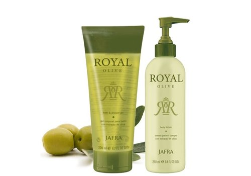 Jafra Royal Olive Set