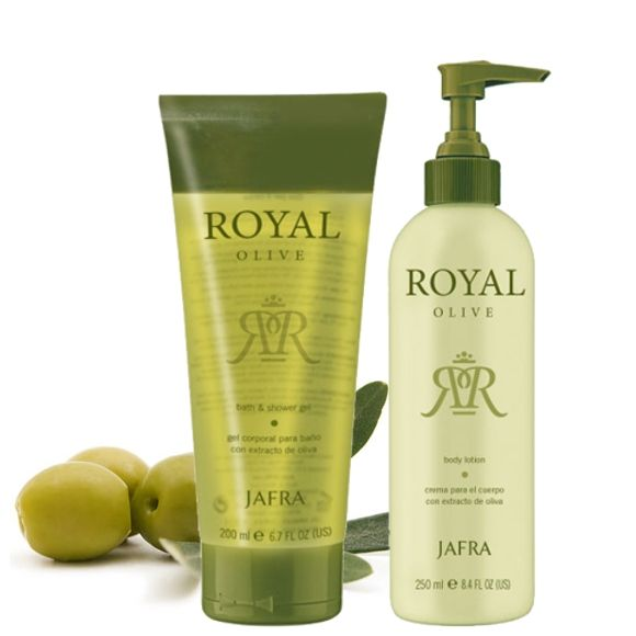 Jafra Royal Olive Royal Olive Set