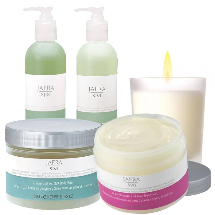 Jafra Spa SPA Christmas Set Deluxe