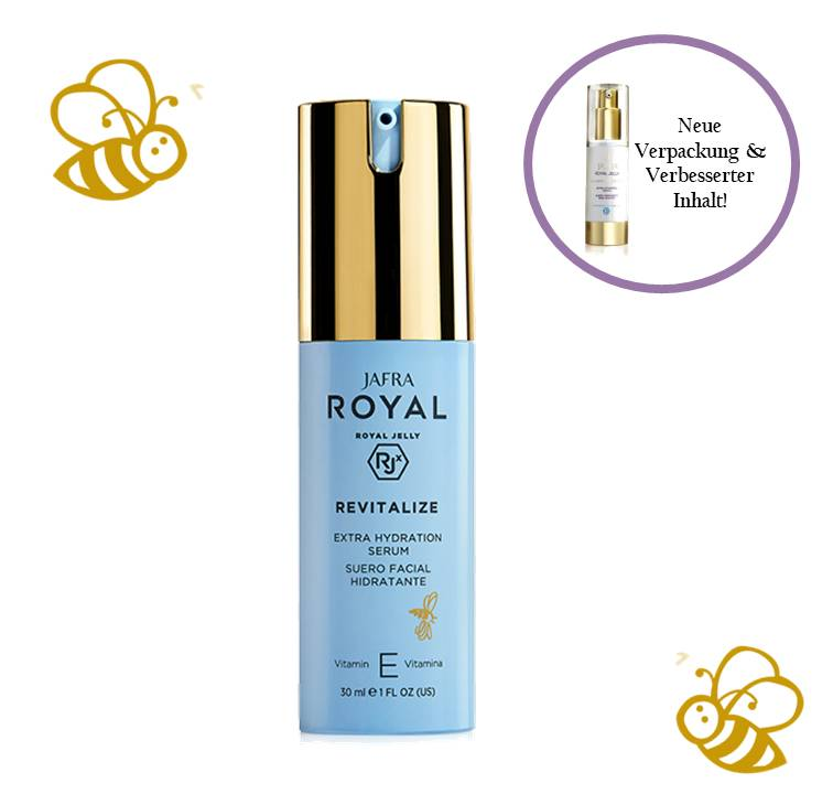 Jafra Royal Jelly Revitalize Royal Jelly Extra Feuchtigkeit Serum mit Vitamin E