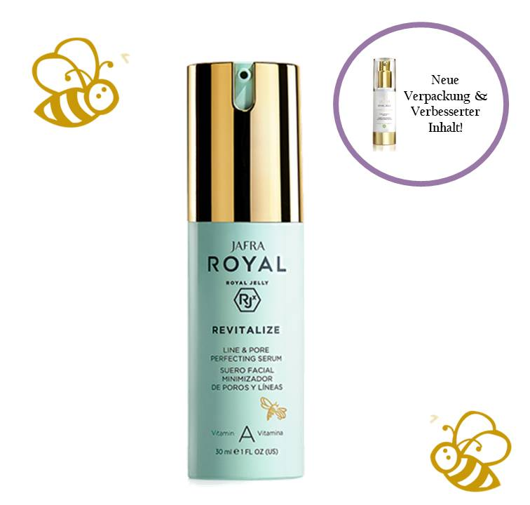 Jafra Royal Jelly Revitalize Royal Jelly Fältchen- und Porenverfeinerndes Serum