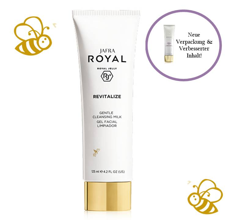 Jafra Royal Jelly Revitalize Royal Jelly Milde Reinigungsmilch