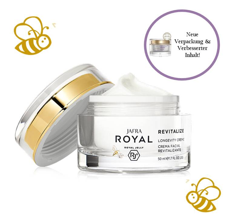 Jafra Royal Jelly Revitalize Royal Jelly Vitalisierende Hautpflegecreme