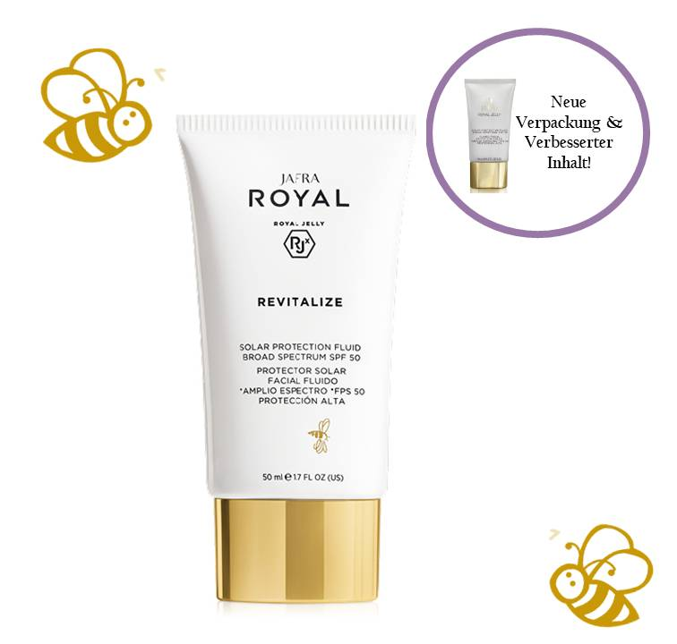Jafra Royal Jelly Revitalize Royal Jelly Sonnenschutz Fluid SPF 50