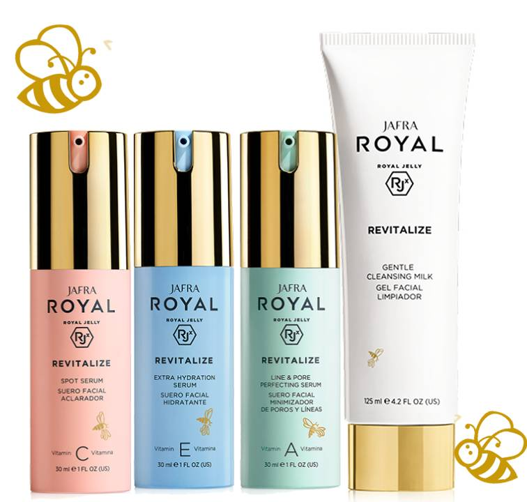 Jafra Royal Jelly Revitalize Revitalize BASIC Set