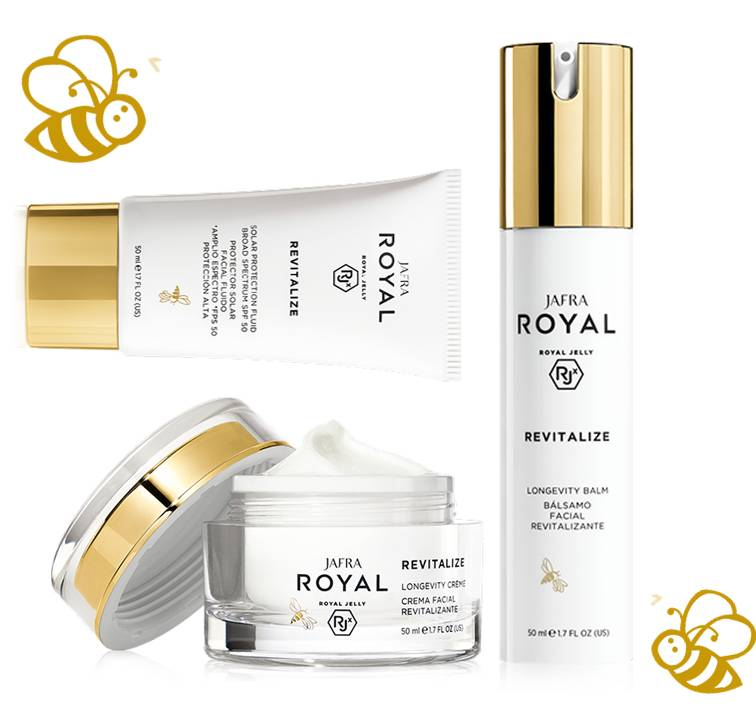 Jafra Royal Jelly Revitalize ROYAL JELLY Revitalize MINI Set