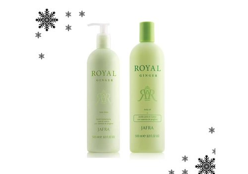 Jafra Royal Ginger Body Lotion oder Öl