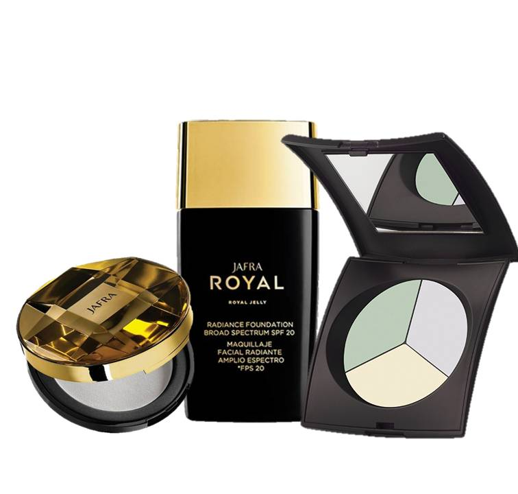 Jafra Royal Color Makeup Set Basic