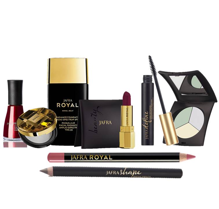 Jafra Royal Color Makeup Set Deluxe