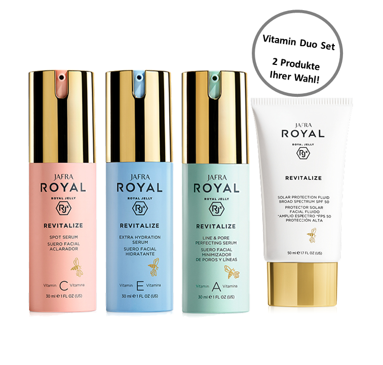 Jafra Royal Jelly Revitalize Vitamin Duo Set