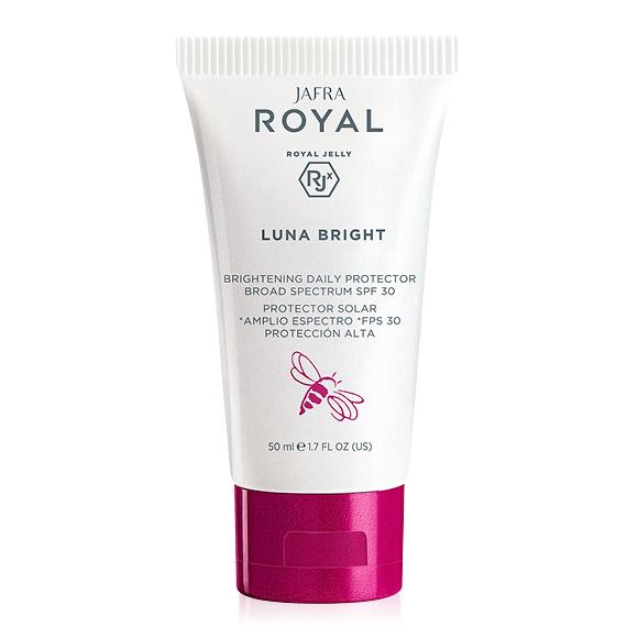Jafra Royal Jelly Luna Bright Jafra Royal Luna - Sonnenschutzcreme SPF 30 für strahlende Haut