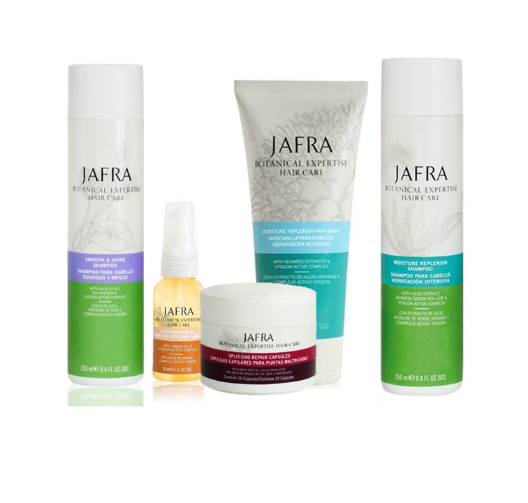 Jafra Botanical Expertise Hair Care Hair Care Set