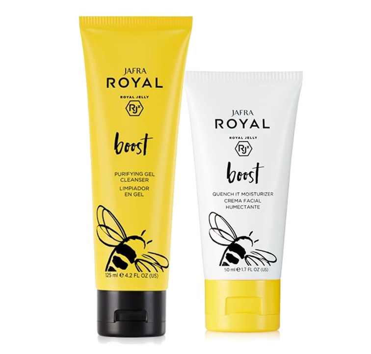 Jafra Royal Boost Royal Boost Set Clean & Moisture
