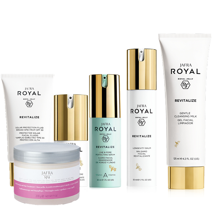 Jafra Royal Jelly Revitalize ROYAL JELLY Revitalize DELUXE Set