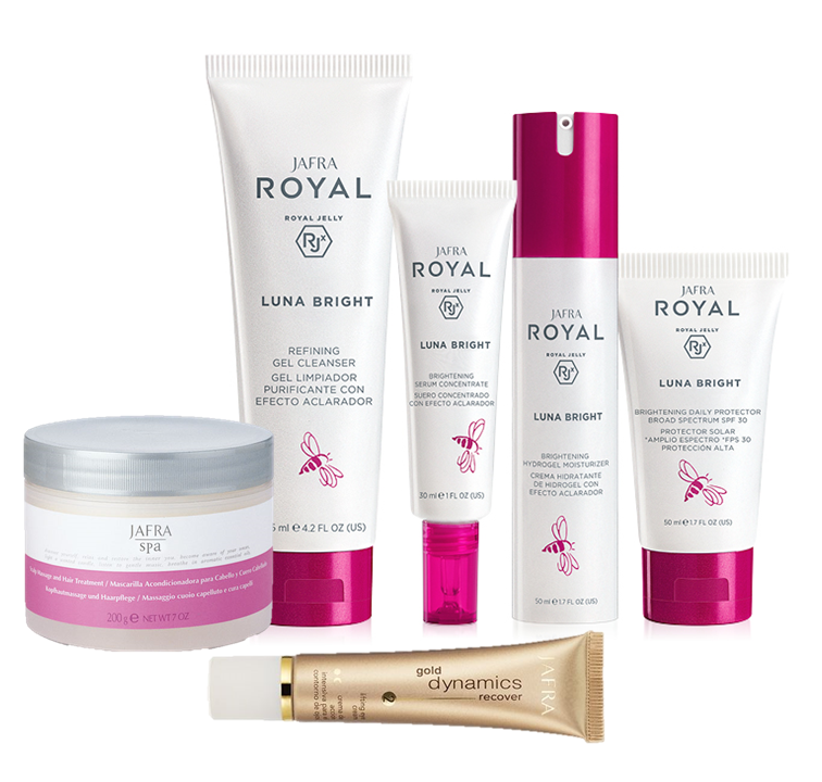 Jafra Royal Jelly Luna Bright Luna Bright Set DELUXE