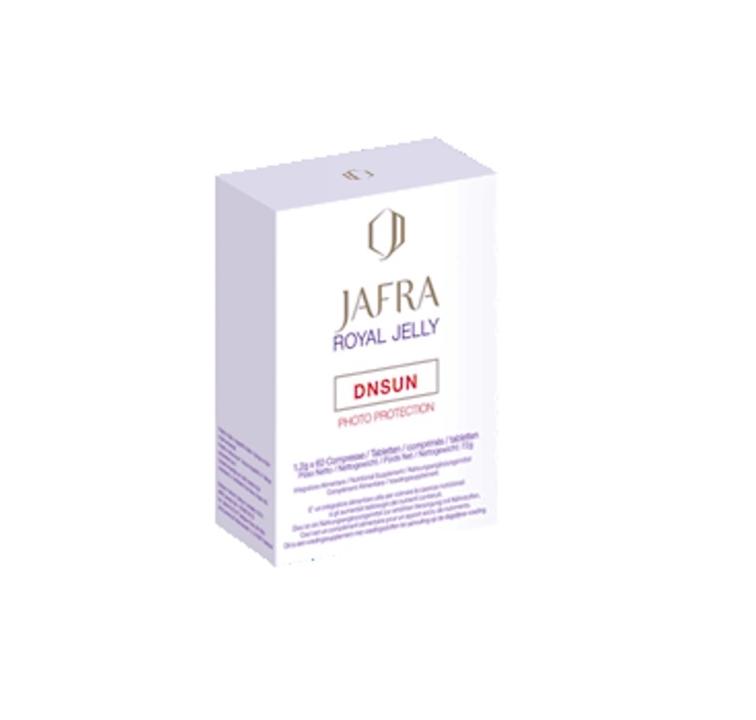Jafra Royal Jelly DNSUN Nahrungsergänzung gegen sonnenbedingte Hautalterung - 60 Tabletten