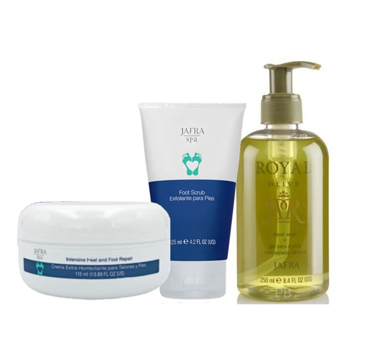 Jafra Foot Care HAND & FOOT TRIO