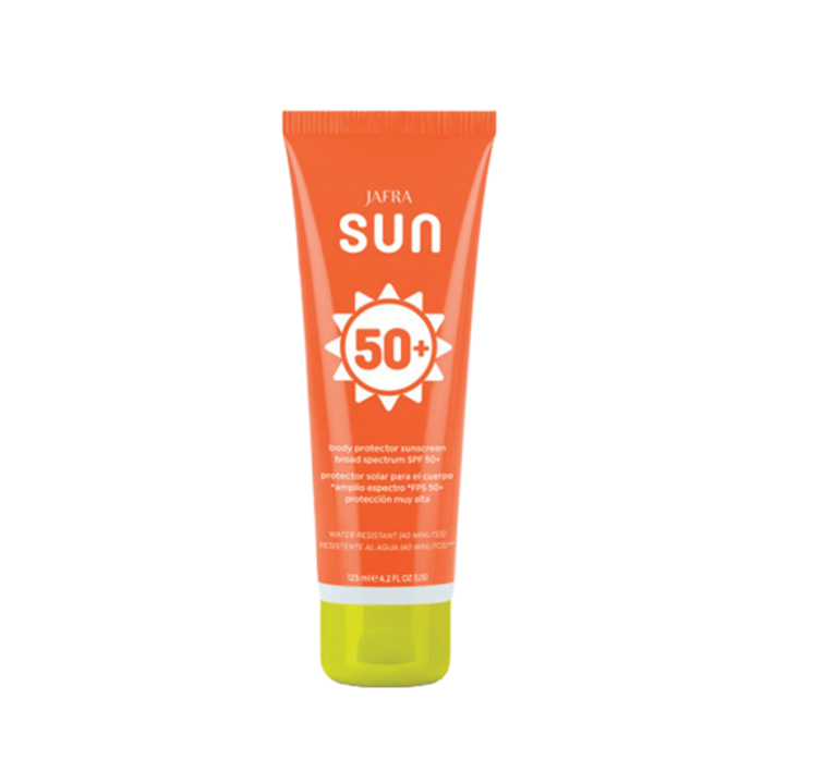 Jafra Sun Intensiver Sonnenschutz für den Körper SPF 50+