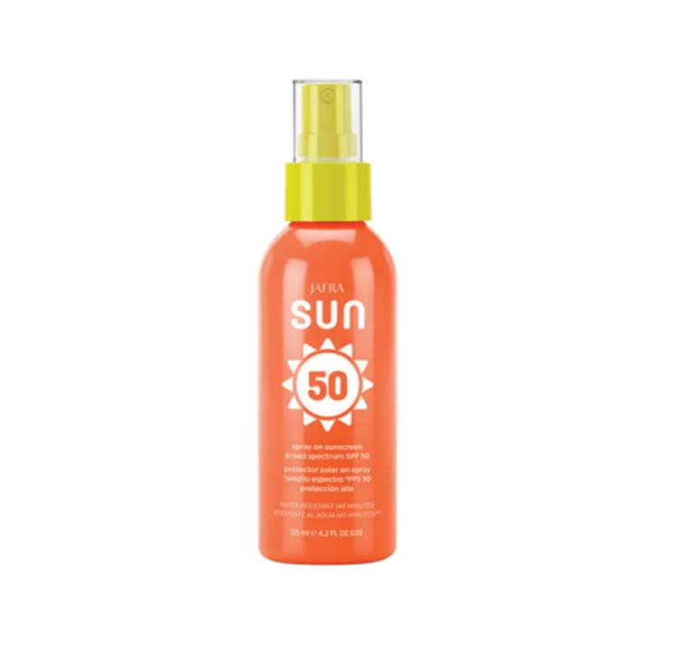 Jafra Sun Sonnenschutz Körperspray SPF 50