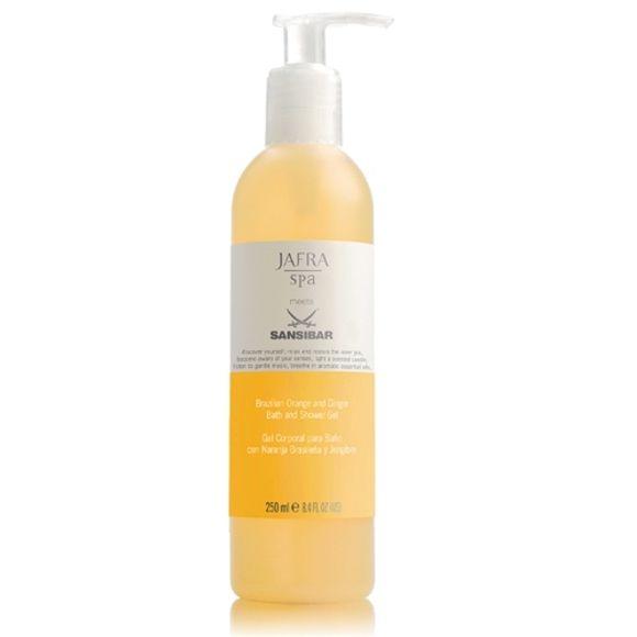 Jafra Brazilian Orange and Ginger Bath and Shower Gel