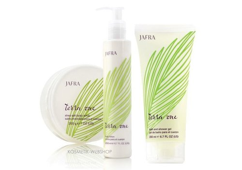 Jafra Terra One Set mit Leinsamen- und Arganöl