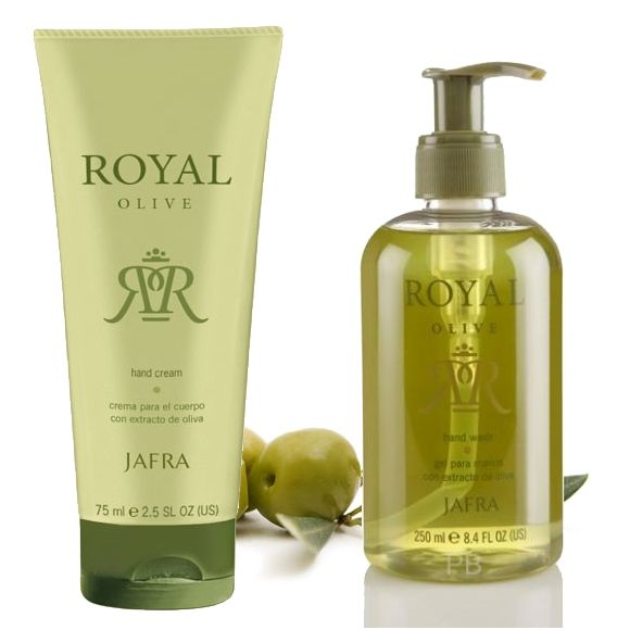 Jafra Royal Olive Royal Hand Set