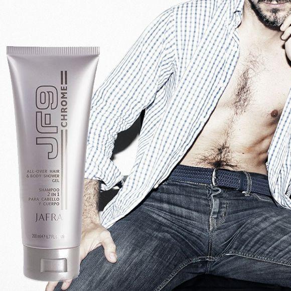 Jafra JF9 Chrome All-Over Duschgel für Körper & Haare