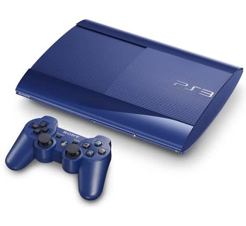 Sony Playstation 3 Super Slim 12gb Blue