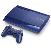 Sony Playstation 3 Super Slim 120gb Blue