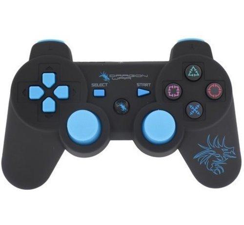 Dragon War Wireless PlayStation 3 Dragon Shock Bluetooth Controller - Zwart
