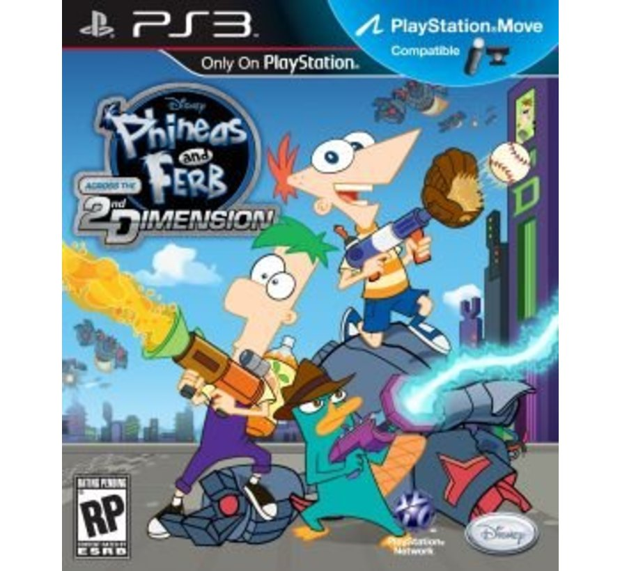 Disney Phineas and Ferb - Across the Second Dimension