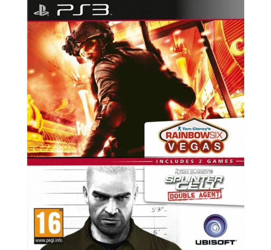 Tom Clancy's Splinter Cell Double Agent + Rainbow Six Vegas