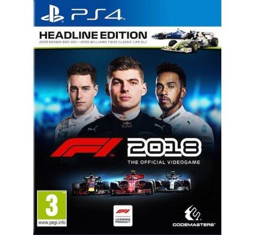 F1 2018 - Headline Edition