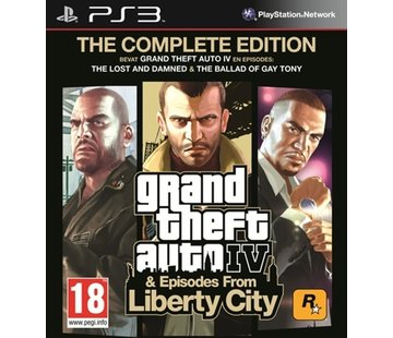 Grand Theft Auto IV (GTA 4) - The Complete Edition - Episodes from Liberty City