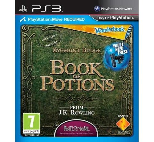 Wonderbook - Book Of Potions - Game only