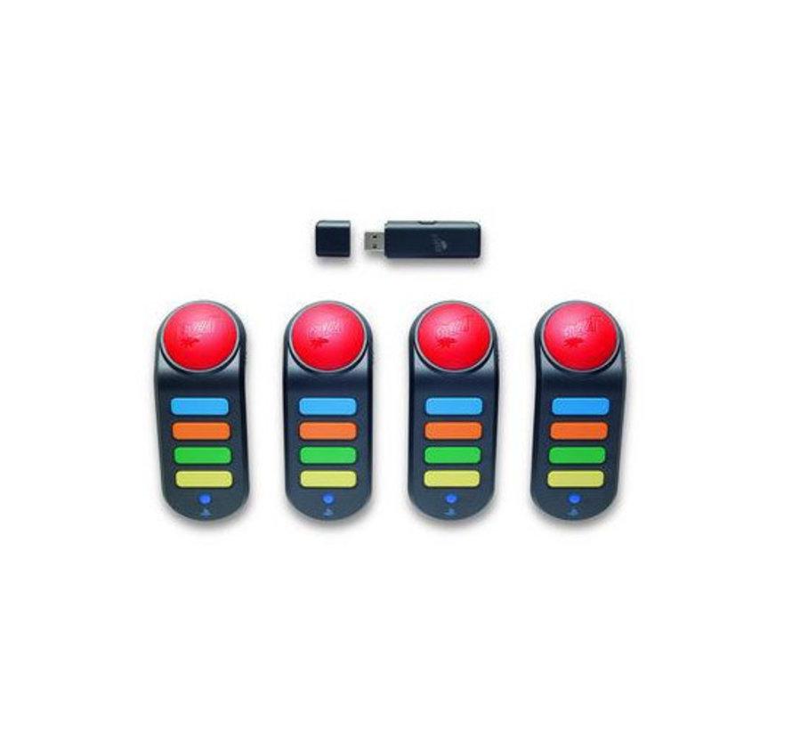 Wireless Buzzers met ontvanger (inclusief opbergtasje)