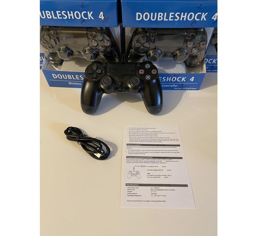 Doubleshock - Draadloze controller PlayStation 4 - Black