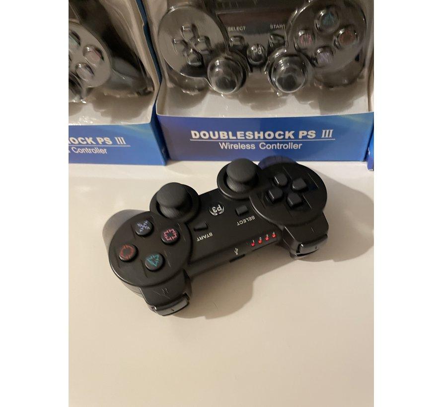 Playstation 3 Double Shock Controller - Zwart - Draadloos