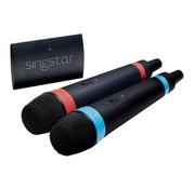 SingStar microfoons draadloos (set van 2 inclusief ontvanger)