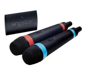 SingStar microfoons wireless (set van 2 inclusief ontvanger)