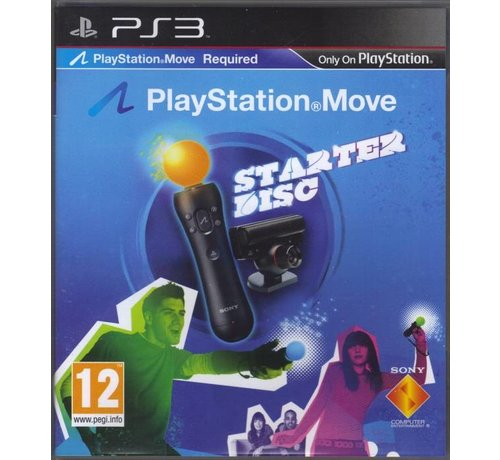 Starter Disc Playstation Move