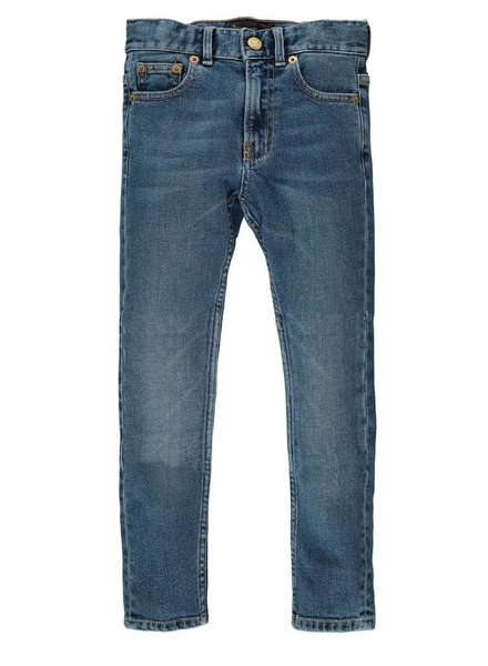 Finger in the nose Denim pants new notron
