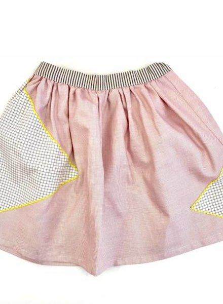Leoca Skirt grid pink
