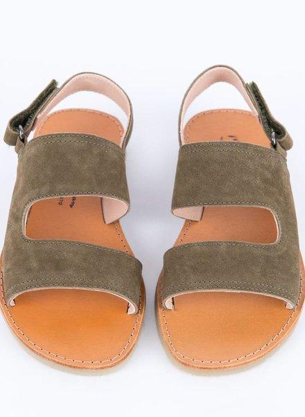 Sandalen baztan olive