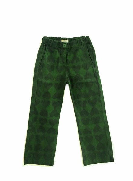 Longlivethequeen broek green hearts
